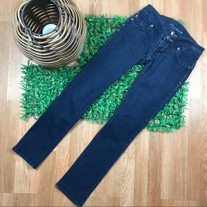 Decree Jean Straight Leg Low Rise BLUE Denim